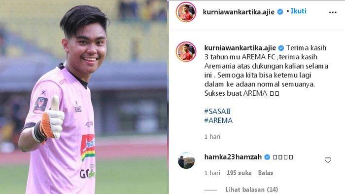 Pamit Tinggalkan Arema FC, Kurniawan Kartika Ajie Pilih Konsentrasi Pemulihan Cedera