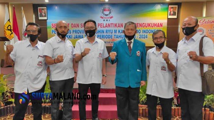 KKI Jatim Kukuhkan Pengurus Baru Kushin Ryu M Karate-Do Periode 2020-2024