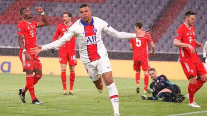 Hasil Skor Liga Champions Bayern Muenchen VsParis Saint-Germain Adalah 2-3, Muenchen Kalah dari PSG