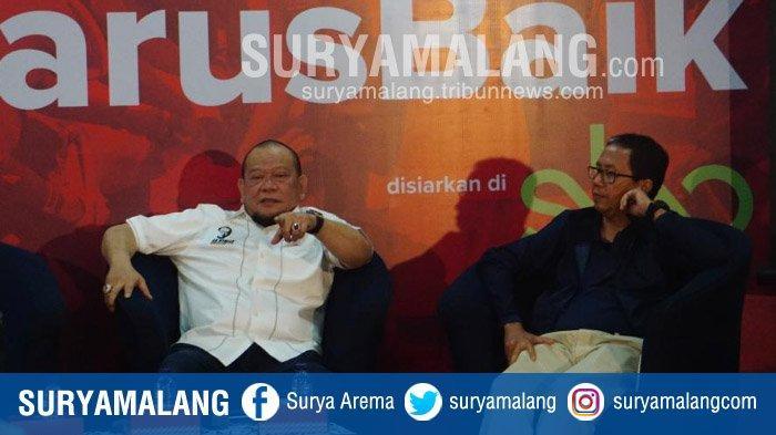 La Nyalla Mattalitti Menjawab Sesumbar 'Potong Leher Saya Kalau Sampai Prabowo Menang di Madura'