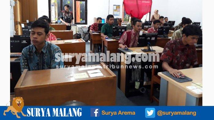 Gladi Resik UNBK SMP di Kota Malang Tak Harus Ikuti Dua Pelajaran
