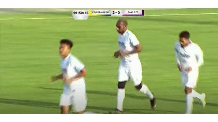 Laga uji coba RANS Cilegon FC dengan Fenerbahce U-19