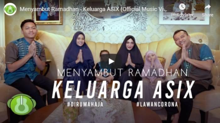 Lirik dan Kunci Gitar Lagu Keluarga Asix - Menyambut Ramadhan, Dengarkan Lagu Melalui Video Youtube