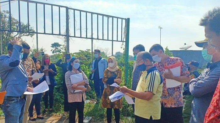 PN Kota Malang Bersama BPN Gelar Pemeriksaan di Lahan Sengketa yang Akan Dibangun Apartemen