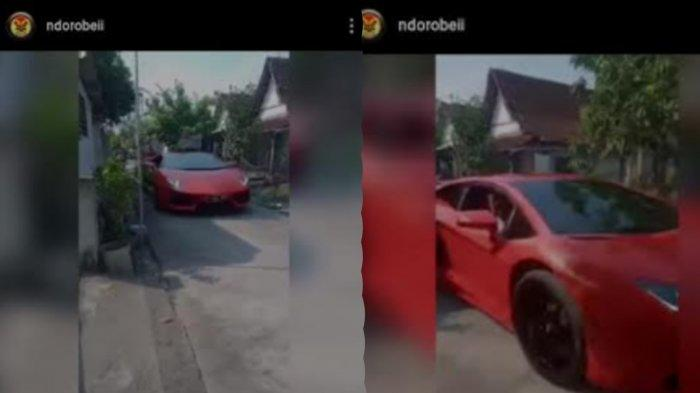 Lamborghini Blusukan di Jalanan Kampung Lamongan Viral, Bupati Yuhronur Efendi Sampai Ikut Bereaksi
