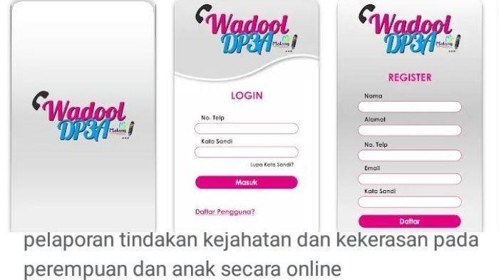 Wadool DP3A, Aplikasi untuk Lapor Kejahatan dan Kekerasan Terhadap Perempuan dan Anak Secara Online