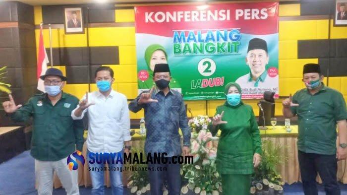 Begini Cara Lathifah-Didik Kampanye Pilkada Malang 2020 di Masa Pandemi Corona