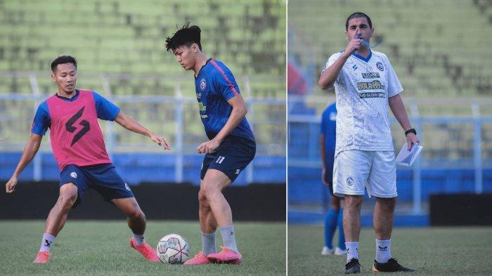 Libur Telah Usai, Arema FC Sudah Mulai Geber Latihan di Malang Jelang Hadapi Persija di Seri2 Liga 1