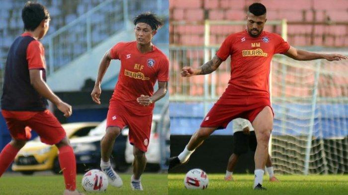 Latihan Perdana Arema FC, Banyak Pemain Absen