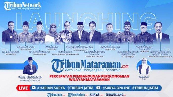 LIVE STREAMING Launching TribunMataraman.com Sore Ini, 2 Menteri Presiden Jokowi Dijadwalkan Hadir