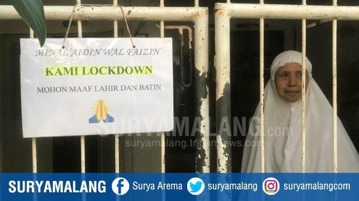 Tulisan di Pagar Jadi Penanda Lebaran di Rumah dan Tak Terima Tamu, Warga : Mohon Maaf Kami Lockdown