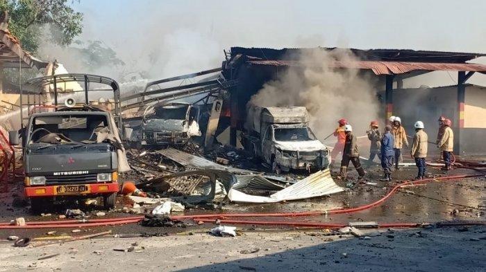 Ledakan di Mako Brimob Semarang Merusak 44 Bangunan, Terdeteksi 40 Jenis Bahan Peledak