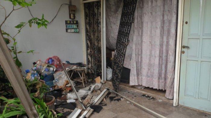 Ledakan Keras Kagetkan Warga Jalan Karyawan Baru Kota Mojokerto, Diduga Akibat Kebocoran Gas Elpiji
