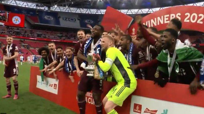Leicester City Juara Piala FA Tundukkan Chelsea di Final, Ada Rekor Sempurna Pelatih Brendan Rodgers