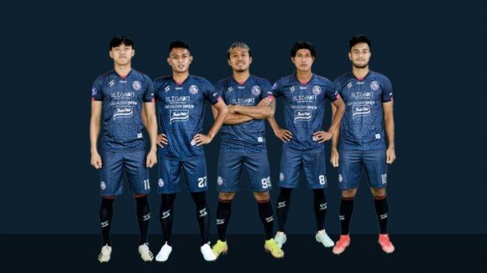 Lima pemain Arema FC yang dipanggil Timnas Indonesia asuhan Shin Tae-yong.