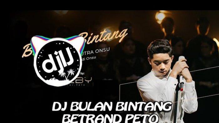 Link Download MP3 DJ Bulan Bintang - Betrand Peto Lengkap dengan Chord Gitar, Viral di TikTok
