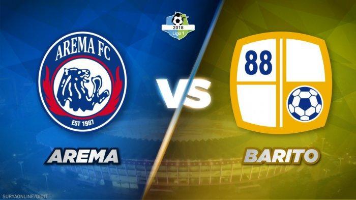 Link Live Streaming O Channel, Skor Arema FC Vs Barito Putera 2-0, Masih Berlangsung