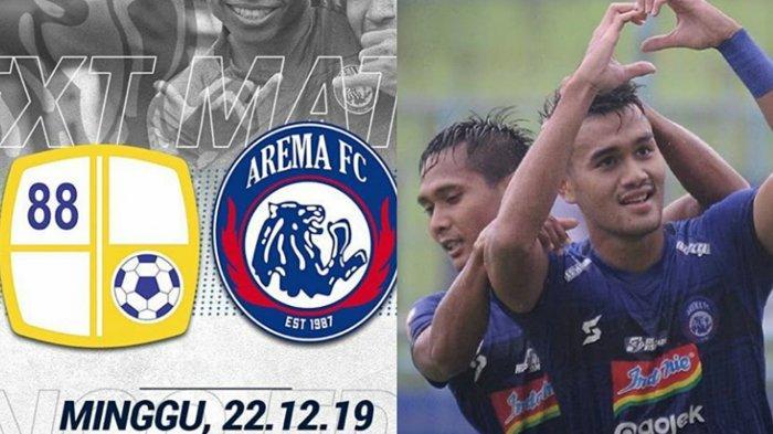 Arema FC Tertinggal, Hasil Skor Barito Putera Vs Arema FC 0-1, Babak Kedua Masih Berlangsung