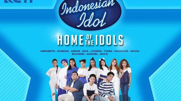 Jadwal Acara SCTV TRANS TV GTV RCTI Indosiar TVONE Senin 6 Januari 2020, Indonesian Idol Jam 9 Malam