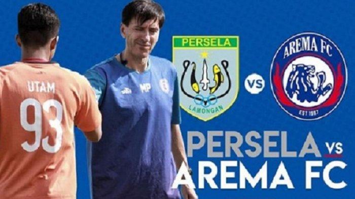 Link Live Streaming Indosiar Persela Vs Arema FC dan Susunan Pemain Jumat 16 November Jam 18.30 WIB