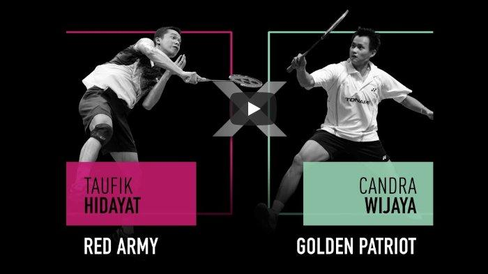 Link Live Streaming MIX & MATCH INDONESIA Tim Taufik Hidayat Vs Chandra Wijaya, Ada Kevin Sanjaya