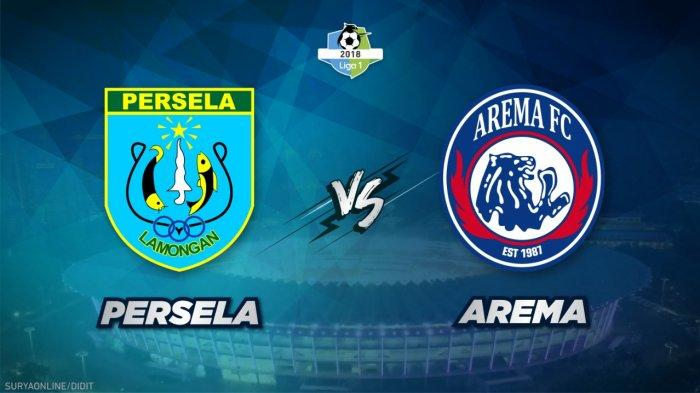 Head to Head & Link Live Streaming Persela vs Arema FC Jumat 16 November 2018 di Indosiar