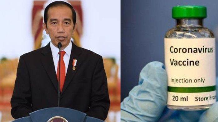 Link Live Streaming Presiden Jokowi Disuntik Vaksin Covid-19 Hari Ini Pukul 10.00 WIB