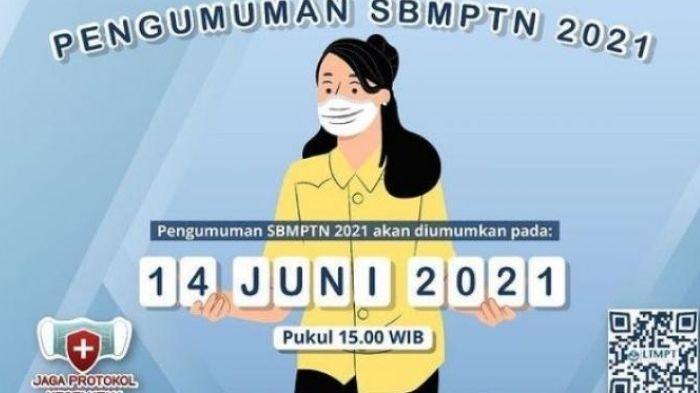 Link Pengumuman SBMPTN 2021 UB, UNY, dan UIN Malang Hari Ini Pukul 15.00 WIB, Cek di Sini