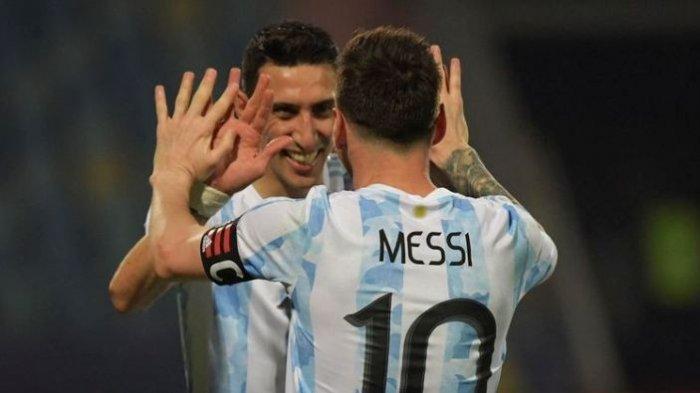 PSG Rasa Argentina, Mimpi Angel Di Maria Terkait Lionel Messi Terwujud Jadi Kenyataan