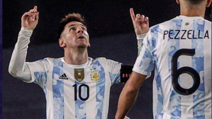 Lionel Messi Pecahkan Rekor Pele Sekaligus Memenangkan Timnas Argentina dengan Hattricknya