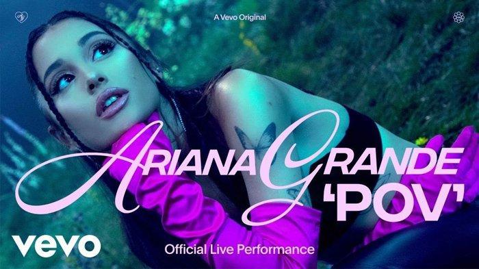 Lirik Lagu pov - Ariana Grande Lengkap dengan Terjemahannya