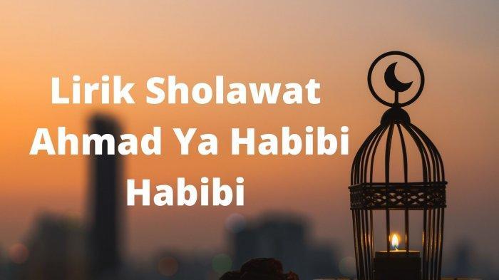 Lirik Sholawat Ahmad Ya Habibi Habibi Versi Sabyan Gambus, Lengkap Tulisan Arab, Latin & Terjemahan