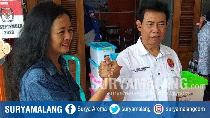 Lisminingsih-Teteng Setor 12.500 Dukungan untuk Maju Pilwali Kota Blitar 2020 Jalur Perseorangan