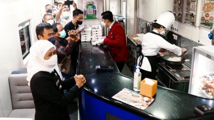 PT KAI Kini Berikan Fasilitas Wifi Gratis dan Layanan Live Cooking di Dalam Kereta Api