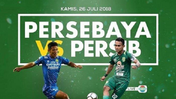 Kilas Balik Liga 1 2018 - Persib Jadi Juara Paruh Semusim Seusai Kalahkan Persebaya di Surabaya
