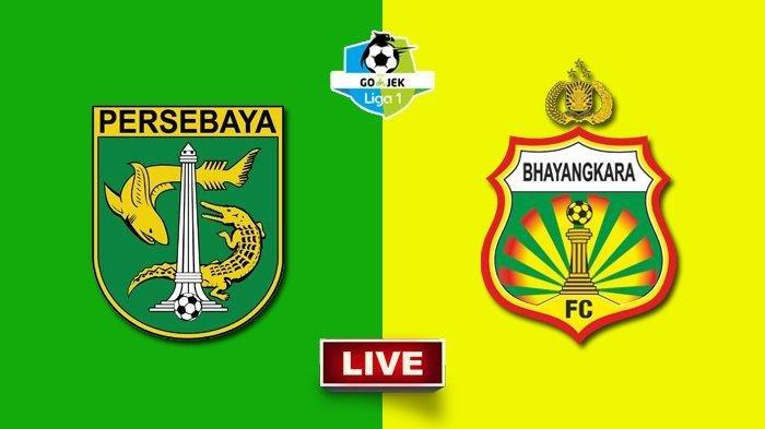 Susunan Pemain Persebaya Vs Bhayangkara FC – Dua Tim Sama-sama Pasang 3 Striker