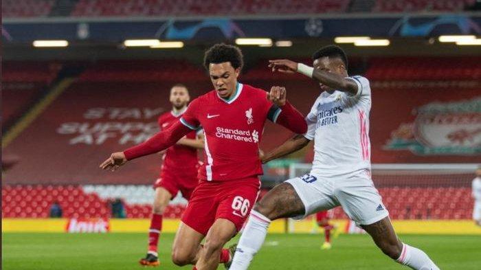 Liverpool Tersingkir dari Liga Champions, Hasil Skor 0-0 Cukup Bagi Real Madrid Lolos ke Semifinal
