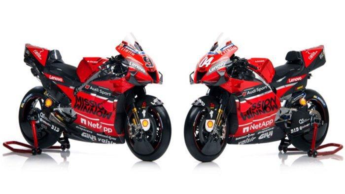 Ducati Resmi Luncurkan Motor Baru untuk MotoGP 2020, Optimisme Bersaing dengan Perubahan di Mesin