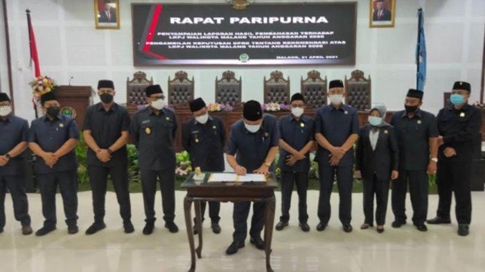 8 Sasaran Kinerja di LKPJ 2020 Belum Tercapai, Begini Reaksi Wali Kota Malang Sutiaji