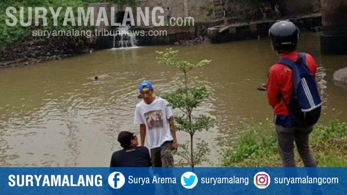 Pelajar SMP Tewas Tenggelam saat Hendak Mancing Ikan di Sungai Sadar Kecamatan Ngoro Mojokerto