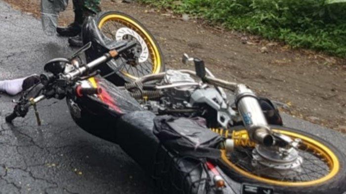 Ngebut, Pelajar Tewas dalam Kecelakaan di Jalan Hutan Maliran, Kabupaten Blita