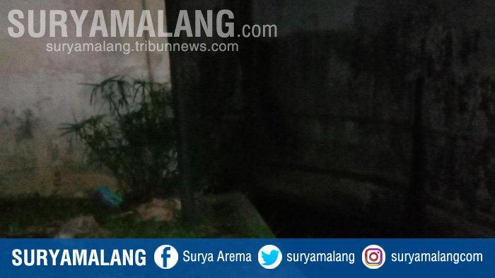 Lokasi pelecehan seksual yang menyasar bocah perempuan di Kota Malang.