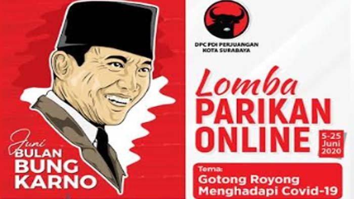 Dibuka untuk Umum, PDIP Surabaya Gelar Lomba Parikan dan Foto Berhadiah Belasan Juta
