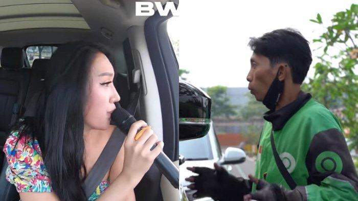 Lucinta Luna buat driver ojol kaget karena suaranya
