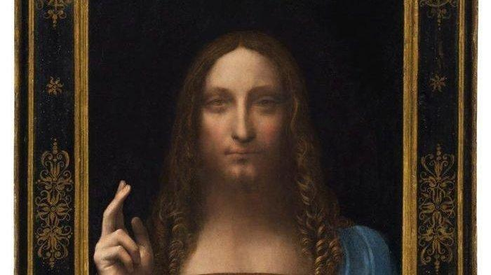 16 Lukisan yang Harga Jualnya Sangat Fantastis, Lukisan 'Salvator Mundi' Laku Sampai Rp 6 Triliun