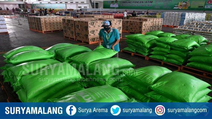 Jelang PSBB Surabaya Raya, Dinas Pertanian dan Ketahanan Pangan Jatim : Stok Beras Surplus