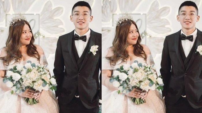 Luu Duong (kiri) saat menikah dengan Luu Gia Vy (kanan)