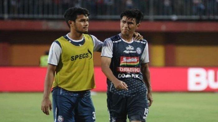 Dua Pemain Arema FC, Hanif Sjahbandi Dan M Rafli Dapat Panggilan Timnas U-22