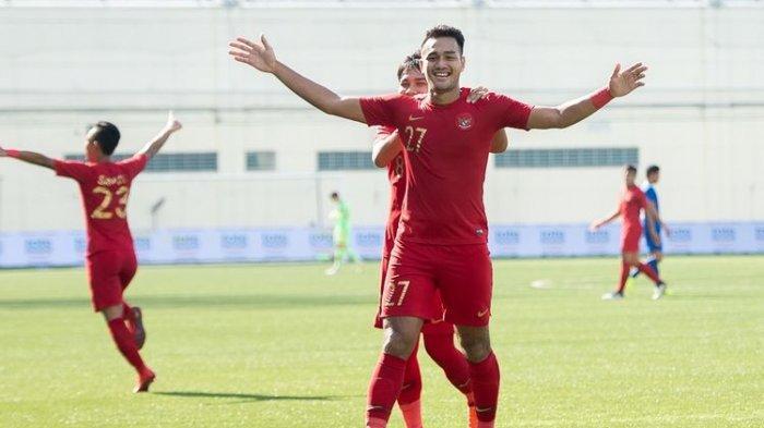 Pemain Muda Arema FC M Rafli Cetak Hattrick Bersama Timnas U-23 Indonesia, Garuda Menang Telak 5-0