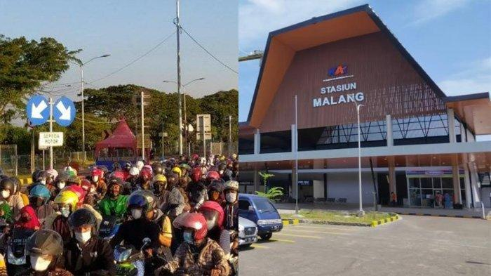Info Mudik Malang dan Wilayah Penyekatan: Rekayasa Lalu Lintas Stasiun Malang & Macet di Suramadu